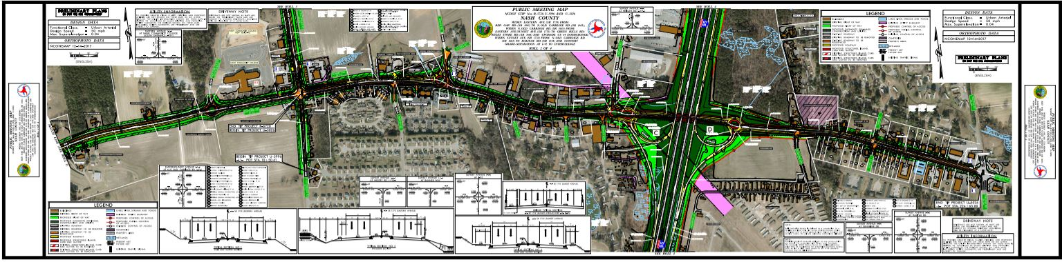 • Public Meeting Map: Eastern Avenue from Shellcastle Road to Halifax Road